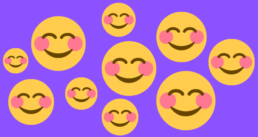 Mit kuss was ein bedeutet herz smiley Emoji Bedeutung: